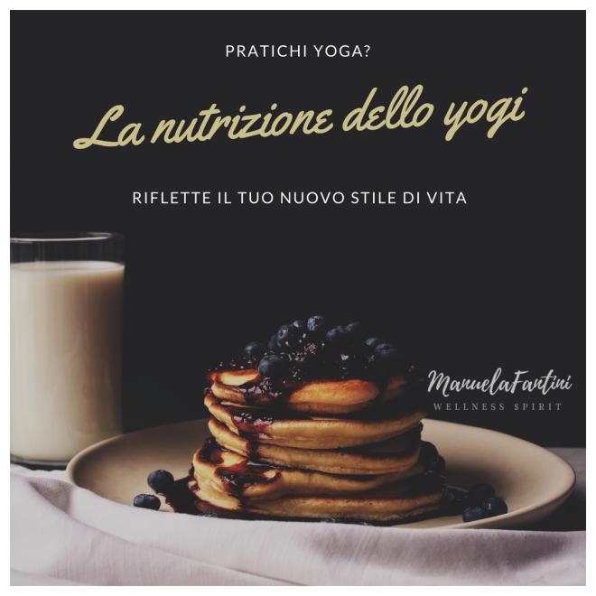 L'alimentazione yoga